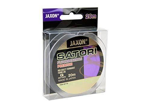 Jaxon Angelschnur Vorfachschnur Satori FLUOROCARBON Premium 20m Spule 0,10-0,60mm (0,18mm / 6kg)