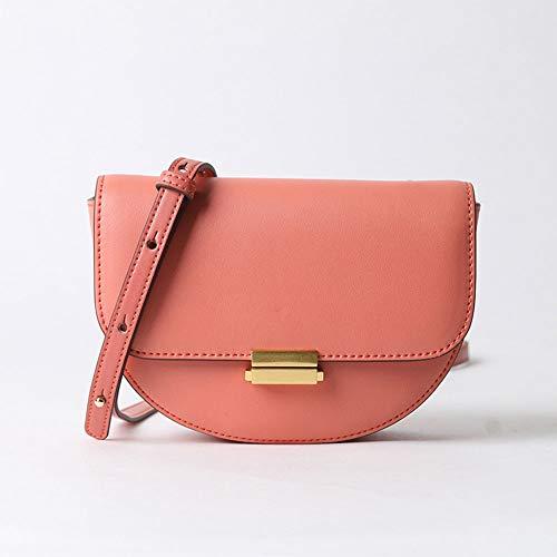 Handtas voor dames - leder - tas voor dames - kleine tas voor stoel