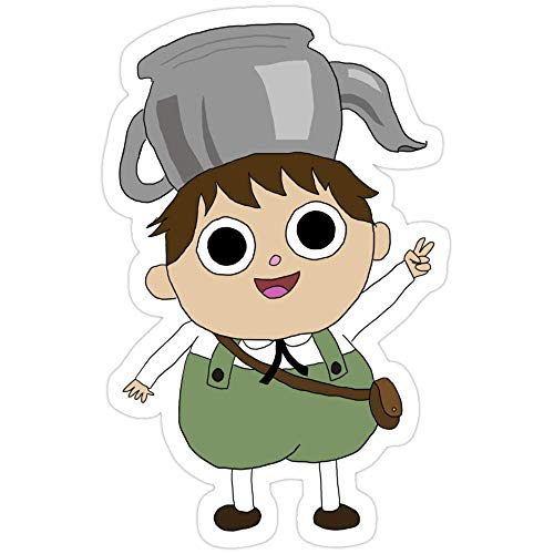 Cool Sticker For Cars, Trucks, Water Bottle, Fridge, Laptops Over The Garden Wall Greg Stickers (3 Pcs/Pack) 2694167532428