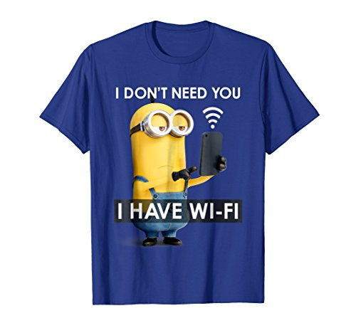 Despicable Me Minions KevinI Have Wi-Fi Graphic T-Shirt