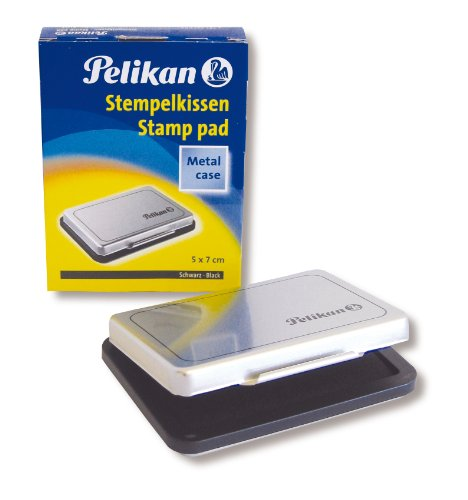 Pelikan 331066 - Tinta para sellos (110 x 50 mm), color negro