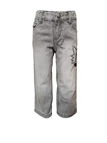 lupilu Jungen Jeans 100% Baumwolle Freizeithose 86 Grautöne
