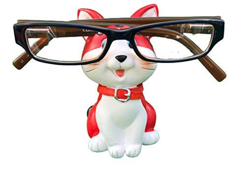 The Eye Glass Holding Co Cat Brillen Houder Stand Bril Specs Zonnebril Volwassenen Kind Rood