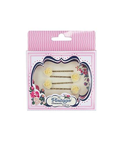 The Vintage Cosmetic Company 4 Petite Fleur Crème épingles