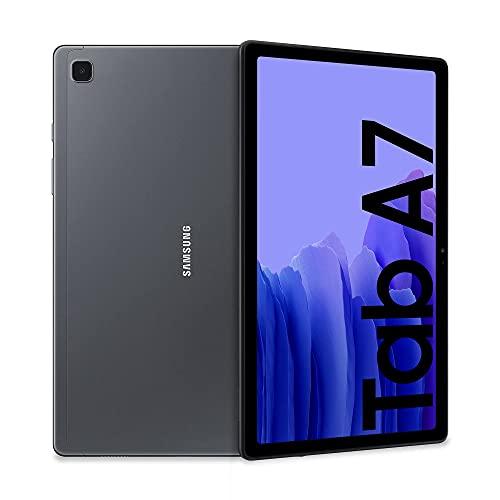 Samsung Galaxy Tab A7 Tablet, Display 10.4' TFT, 32GB Espandibili fino a 1TB, RAM 3GB, Batteria 7.040 mAh, WiFi, Android 11, Fotocamera posteriore 8 MP, Dark Gray [Versione Italiana] (Ricondizionato)