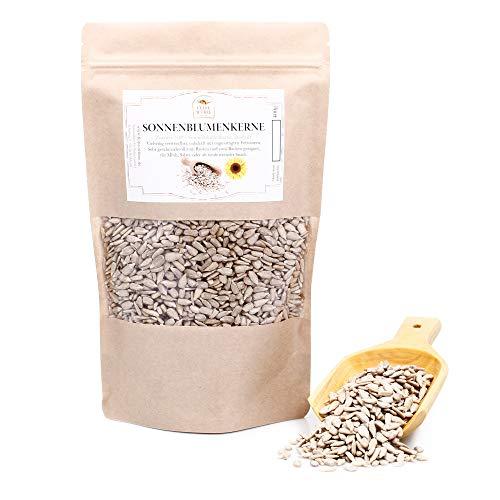 Sonnenblumenkerne, geschält, als Backzutaten oder Snack, Backgewürz zum Brot backen, Brotgewürz, 400g