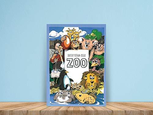 Ein Tag im Zoo - ein personalisiertes Kinderbuch mit dem Namen Ihres Kindes
