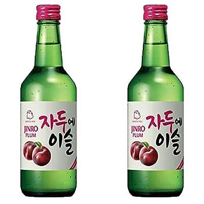 Jinro Plum Flavour Soju 350ml 13% Alc. / Vol(Pack of 2)
