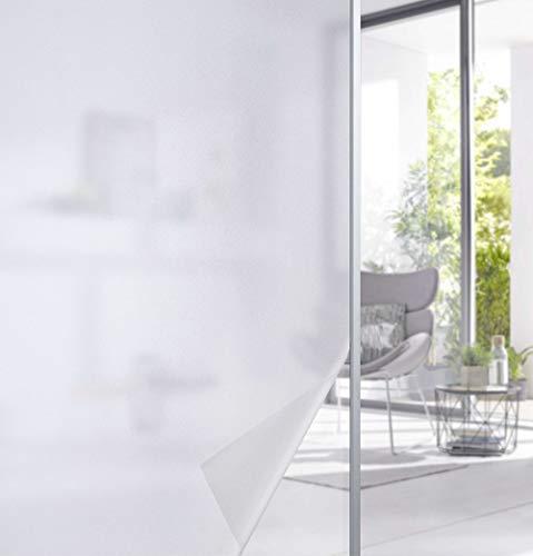 Gardinenbox 201916000-004 - Lámina autoadhesiva para ventana, protección visual y antiestática, 201916006, vidrio esmerilado, 67 x 200 cm