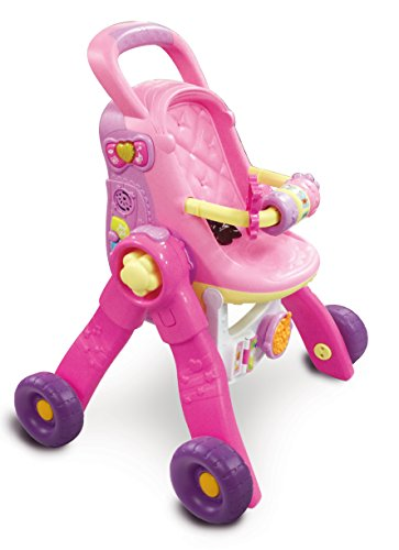 Vtech – 154105 – Puppenwagen – Little Love – 3-in-1 interaktiv – französische Version