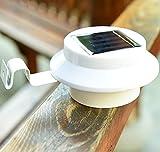 Solar String Lights Wasserdichte LED Auto On OFF Gartenzaunbeleuchtung im Freien Weiß warm rund