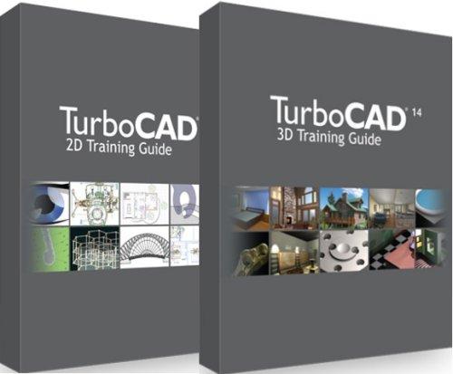 TurboCAD 14 2D/3D Coursebook/Book Bundle (PC)
