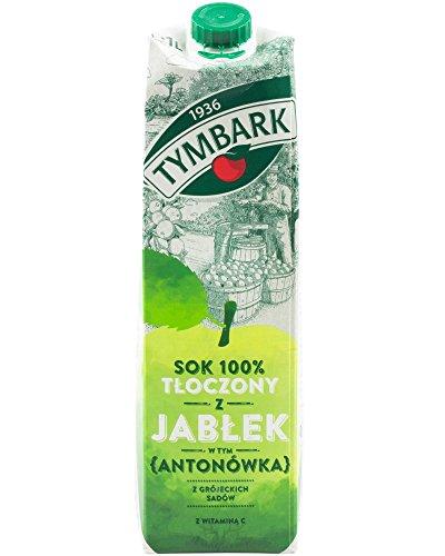 100% Saft gepresst von Äpfeln Antonowka 1L Tymbark I Polnische Getränke & Fruchtsäfte