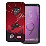 Galaxy S9 Plus Case Marvel Avengers Layered Hybrid [TPU + PC] Bumper Cover for [ Galaxy S9 Plus ] Case - Shadow Spider Man