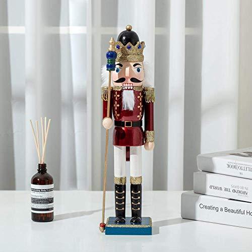 1-3 teile pro Weihnachten Nussknacker König Soldat Hölzerne Marionette, Weihnachten Holz Nussknacker Ornamente Set, Hängender dekorativer Anhänger for König, Soldat, Trommeln Soldat Klassik liuchang20