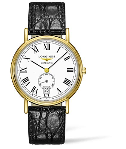 Longines Presence reloj automático de los hombres esfera blanca L4.805.2.11.2