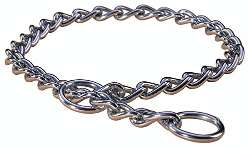 Hamilton Extra Heavy Choke Chain Dog Collar, 24-Inch