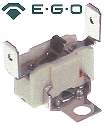 EGO 00.00960.009 Beveiligings-installatiethermostaat voor radiatoren 1-polig 1NC 200°C aansluiting platte stekker 6,3 mm verticaal 1-polig