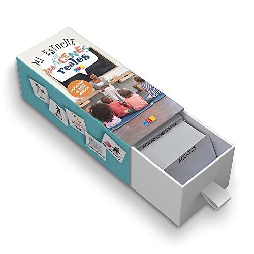 Mi estuche de imágenes reales / Editorial GEU / 400 tarjetas con imágenes reales / Recomendado para facilitar la comunicación del niño/a / Plastificado
