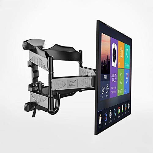 NB P5 Full Motion 32 inch-60 inch LCD LED TV Wall Mount Rack 6 Swing Arms Max. VESA 400x400mm TV Mounting Bracket