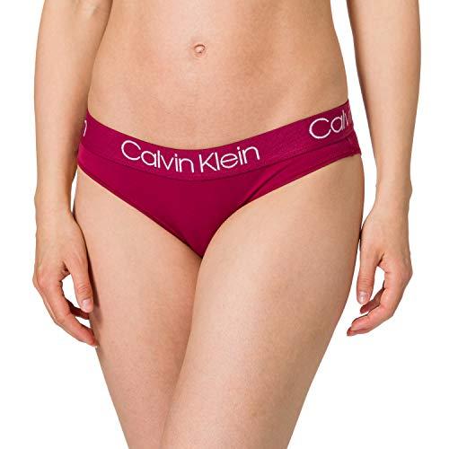 Calvin Klein Bikini Ropa Interior, Rosa de mar Profundo, S para Mujer