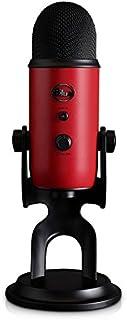 Blue Yeti Satin Red プロフェッショナルUSBマイクロフォン [並行輸入品]