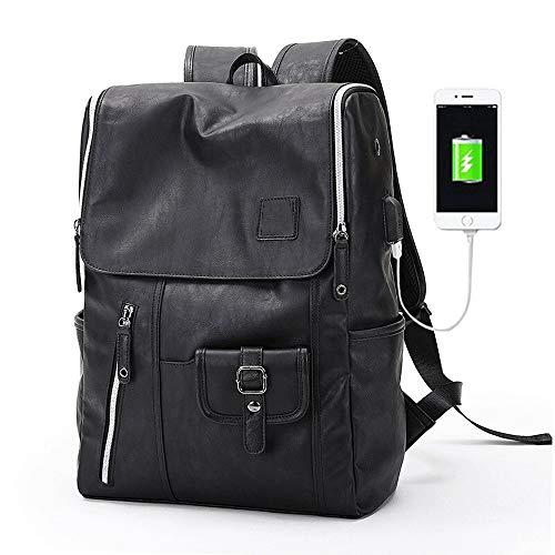 TADQ Sac à Dos - Sac à Dos for Ordinateur Portable Professionnel étanche avec Interface de Chargement USB