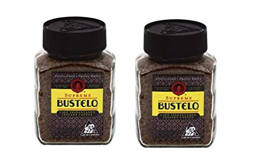 Supreme Bustelo Instant Coffee (2 Jars of 3.52)