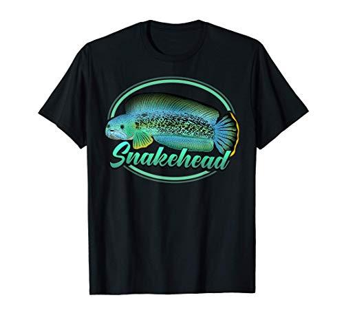 Snakehead Channa Aquarium Ornamental Fish Tank Aquarist Gift T-Shirt