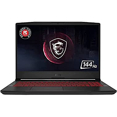 CUK Pulse GL66 Gamer Notebook (Intel Core i7-11800H, 64GB RAM, 2x2TB NVMe SSD, NVIDIA GeForce RTX 3070 8GB, 15.6″ FHD 144Hz IPS, Windows 10 Home) 15 Inch Gaming Laptop Computer (Made_by_MSI)
