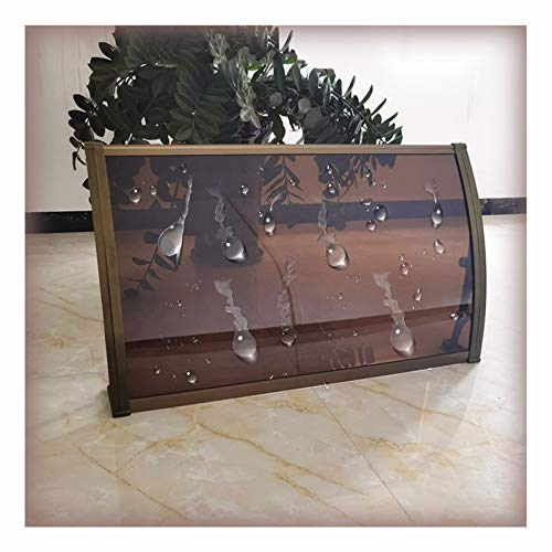 LIANGLIANG Vordach Haustür Überdachung, Lichtübertragung Dauerhaft Stumm Selbstreinigung Durch Regen, Benutzt für Fenster Terrasse Campus Gemeinschaft Schwarzes Brett