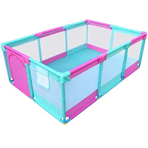 1yess Zelt Playpen Kugel-Grube Playard Breathable Ineinander greifen, bewegliche Innen Außen und Parks Große Geschenke for Baby-Säuglingskleinkind-Kindergröße 74,8 x 51,18 x 25,6 (Color : A)