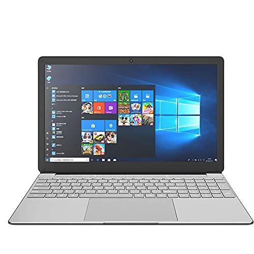 15,6 Zoll Laptop, ordenador portátil, ordenador portátil, Windows 10 Pro Betriebssystem, J4115/J4125 Quad Core CPU, 8 GB RAM, 128 GB ROM (SSD) 1920 x 1080 Mattdisplays, Entspiegelt, HD Kamera