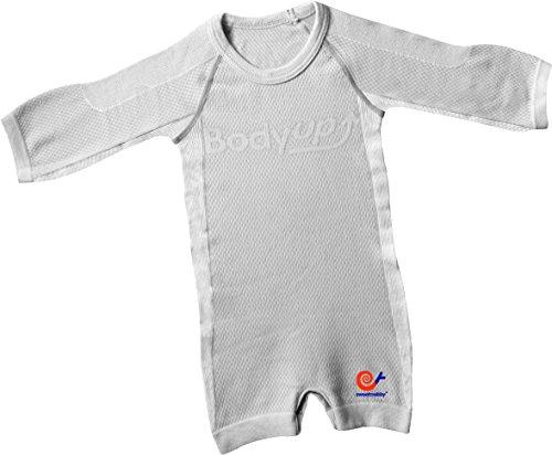 Mebby Épais Body pour Bébé à Longues Manches - Gris - 0 à 3 ans