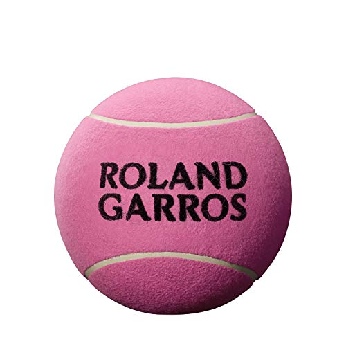 Wilson Roland Garros, WRT1419PD Pallina da Tennis Jumbo, 9 Pollici, Rosa