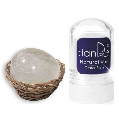 Glas-Stick'Natürliche Schleier' 100% natürliche Antitranspirant/Deodorant TianDe Gewicht: 60 g