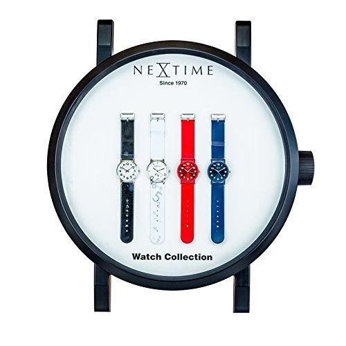 Nextime Watch Display Uhr Wanduhr Form Ladeneinrichtung Wanddekoration 9029
