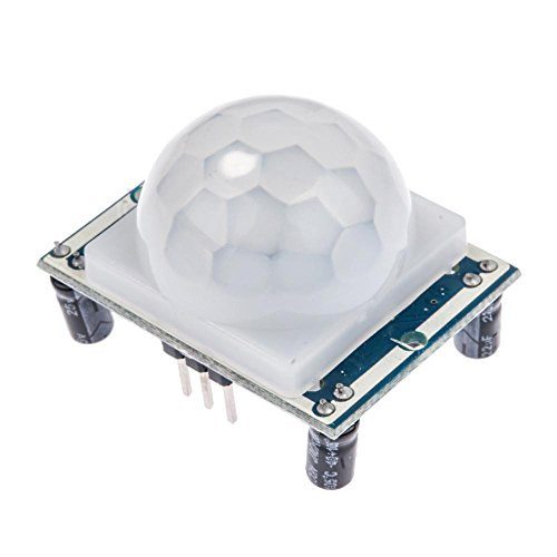HALJIA Adjust IR Pyroelectric Infrared IR PIR Motion Sensor Detector Module HC-SR501 Compatible with Arduino Raspberry Pi DIY Etc