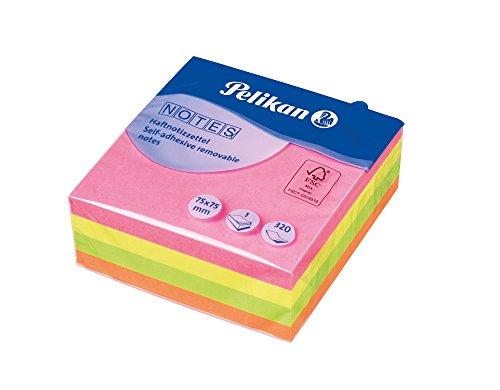 Pelikan Notes Neonmix Format, 75 x 75 mm, 100 Blatt, 1 Set