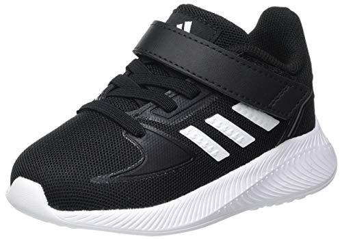 adidas RUNFALCON 2.0 I, Zapatillas de Running, NEGBÁS/FTWBLA/Plamet, 25 EU