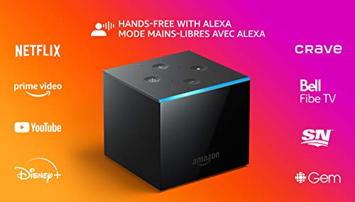 Fire TV Cube | Hands-free streaming device with Alexa | 4K Ultra HD | 2019 release (Electronics)