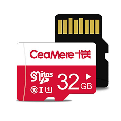 ELK Micro Sd Card, TF Card High Speed Sd Card Class 10 Memory Card for Phone Camera Computer (2 Pack),32GB