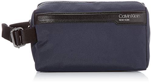Calvin Klein WASHBAG, Accesorio Billetera de Viaje para Hombre, Blue, One Size