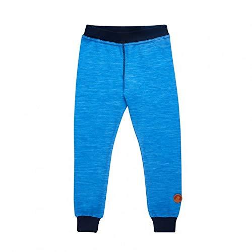 Finkid Kala Wool Legging Kids French/Bleu Marine 2016 Pantalon d'extérieur - Bleu - 110 cm/120 cm