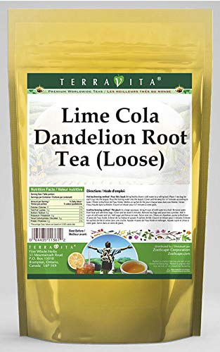 Lime Cola Dandelion Max 89% OFF Root We OFFer at cheap prices Tea Loose 4 Pac 3 ZIN: oz 553868 -