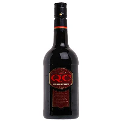 QC Rich Ruby Fortified British Wine