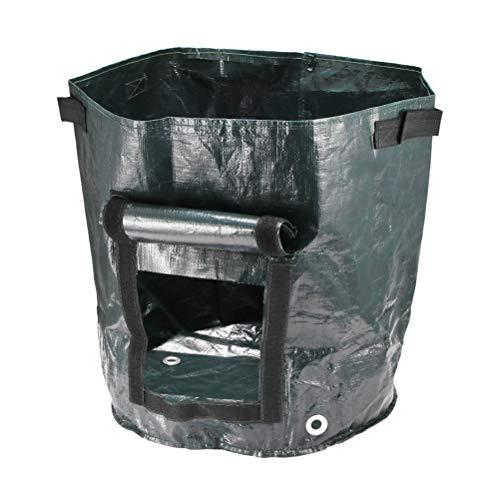 NSGJUYT para el balcón de jardín, la Bolsa de hidratación de la Batida con Ventanas Laterales, llenan el Suelo o Suministros de Cocina de Compost
