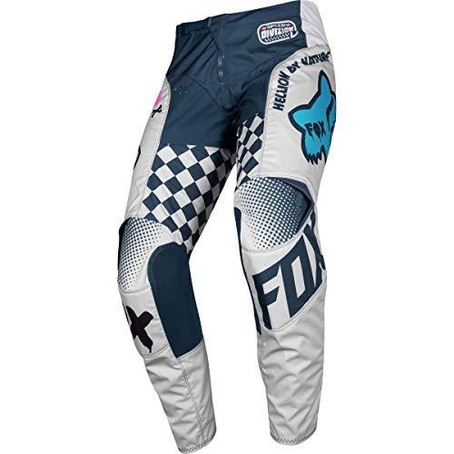 FOX 180 CZAR Motocross Jugend Hose Hellgrau 24