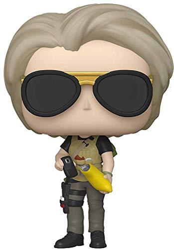 "Funko POP! Movies Terminator: Dark Fate Sarah Connor 3.75"" Chase Vinyl Figure"