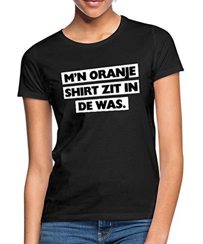 Spreadshirt M'n Oranje Shirt Zit In De Was Koningsdag Vrouwen T-shirt